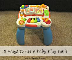 infant activity table toy 8 creative ways to use a baby play table i have used this a lot in