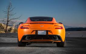 orange aston martin 2014 aston martin vanquish reviews and rating motor trend