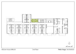 Floor Plans And Elevations Of Houses Passive House Bruck Peter Ruge Architekten Archdaily