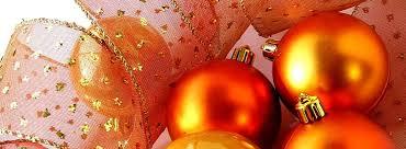 orange christmas decor my web value