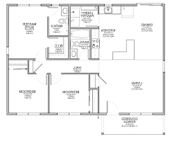 home design 4 best ranch open floor plan house plans unique