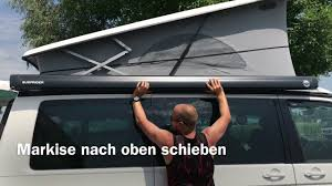 California Awning Vw T6 California Removal Awning Alone Youtube