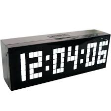 le bureau design led horloge de bureau design 4 colors led clock digital alarm clock wall