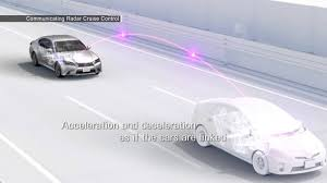toyota global website communicating radar cruise control youtube