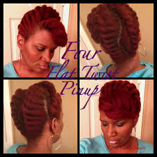 Chunky Flat Twist Hairstyles by Four 4 Flat Twist Pinup Youtube