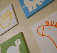 Circo Owl Crib Bedding by Circo Inspired Animal Nursery Art Canvas Set Midwood Design