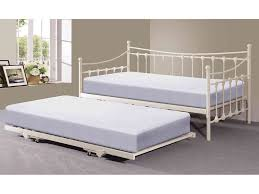 furniture metal white trundle day bed for relax day bed