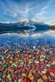 Prettiest Places In The Us Mountain Jewels Lake Mcdonald Glacier National Park Montana By