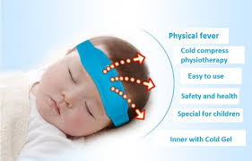 cooling headband cooling headband children adults fever cold belt cold