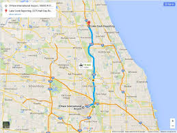 Chicago Il Map by Court Reporters And Legal Videographers In Chicago Lake Cook