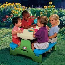 little tikes easy store jr picnic table little tikes easy store jr play table picnic table best