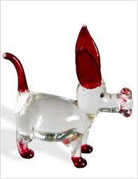 glass figurine dog marketplace