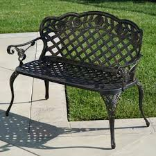 Country Outdoor Furniture by French Country Outdoor Benches You U0027ll Love Wayfair