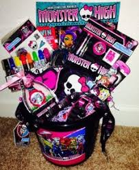 Monster High Bedroom Accessories by Monster High Easter Basket Pail Loaded With Monster High Fun Gifts