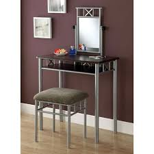 Silver Vanity Chair Vanity Table Bedroom Vanity Set Make Up Vanity Stool Free Shipping
