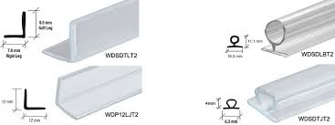 Seal Shower Door Shower Door Seals Considerations Bath Decors