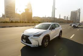first lexus al futtaim motors launches lexus first ever turbocharged nx in the