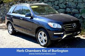 mercedes herb chambers used 2014 mercedes m class for sale in burlington near boston