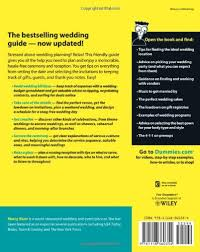 weddings for dummies wedding planning for dummies marcy blum 9781118360354 reference
