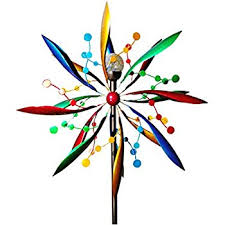 bits and pieces solar peacock wind spinner