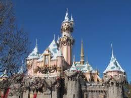 sleeping beauty castle christmas disneyland california