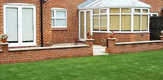 garden wall construction nottingham brick walls lincoln the
