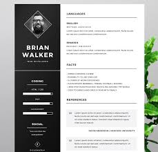 Free Resumes Templates To Download 6 Free Cv Templates To Help You Standout The Jobfather