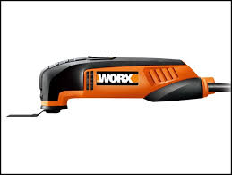 worx 2 5 amp oscillating multi tool with universal fit