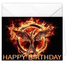 birthday card inspired by mockingjay all ways design