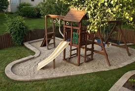 Swing Set For Backyard by Swingset Landscaping Ideas U2013 Bowhuntingsupershow Com