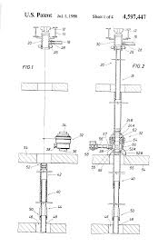 patent us4597447 diverter bop system and method for a bottom