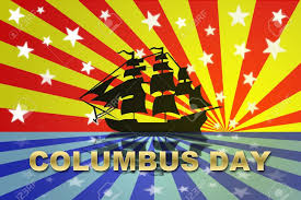 Christopher Columbus Flag Is Columbus Day A Holiday Fishwolfeboro