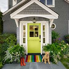 how to pull off a bold front door paint color green front doors