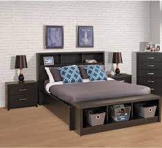 full size bed with storage and mattress modern twin regard to