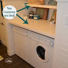 Cute Laundry Room Decor by Paint The Wood Frame To The Color Of Your Choice Match The Color