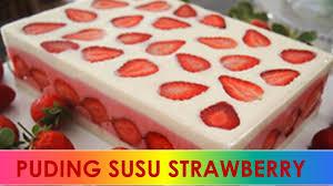 Cara Membuat Puding Enak Dan Murah   resep cara membuat puding susu strawberry enak praktis sederhana