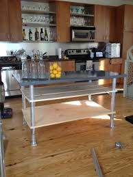travertine countertops kitchen island on casters lighting flooring
