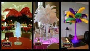 feather centerpieces feathers by angel ostrich feather centerpieces philadelphia