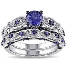 black bridal sets black bridal sets wedding ring sets for less overstock