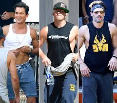 magic mike xxl behind the magic mike xxl behind the scenes shots of the men and more