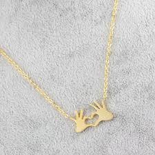 elegant heart necklace images 2017 elegant heart necklace pendant couple love forever wedding jpg