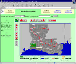 Louisiana Map Of Parishes by Raster Downloader Help