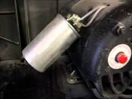 air compressor motor and capacitors youtube