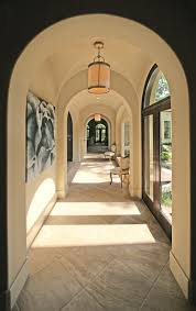 Online Custom Home Builder Showcase Home 2007 By Watermark Builders Hallway With Groin Vault