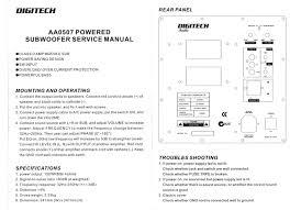 150wrms sub amplifier module jaycar electronics