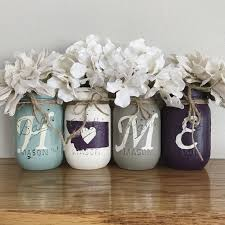 montana home decor montana home mason jar set rustic home decor mint ivory brown