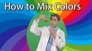 how to mix 3 colors to make a rainbow science experiments for