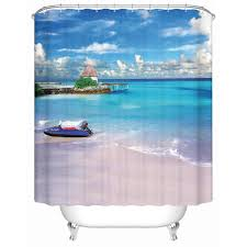 online get cheap shower curtains beach aliexpress com alibaba group