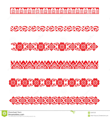 line pattern asian traditional art design vector thai traditional