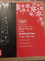 Pre Decorated Christmas Tree Argos by Artificial Christmas Trees Argos Christmas Lights Decoration